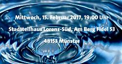 Bürger*innengespräch am 15.2.2017 in Berg Fidel zur Schließung des Wasserwerks Vennheide-Geist