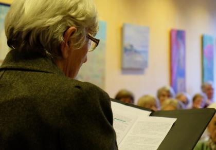 Vorlesen vor vollem Haus: Vorleseclub Hiltrup im Café Klostermann