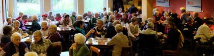 Café Klostermann bis auf den letzten Platz besetzt
