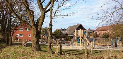 Spielplatz Vennheide: Anfang 2015 endlich fertig
