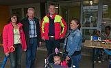 SPD besucht Flüchtlinge