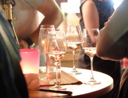 Hiltruper Weinfest: Gläser über Gläser
