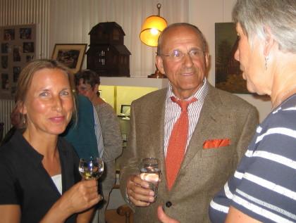 Vorleseclub Hiltrup: Frau Wünsch und Herr Dr. Leding
