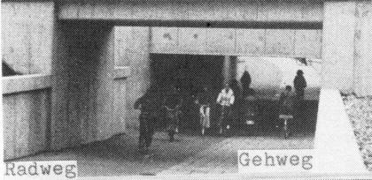 Bahnhofsunterführung Hiltrup (1982)