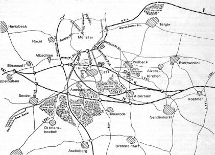 Straßenplanung A43 (1979)