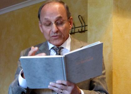 Vorleseclub bei Klostermann: Herr Dr. Leding