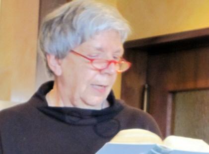 Vorleseclub bei Klostermann: Frau Geisenheyner