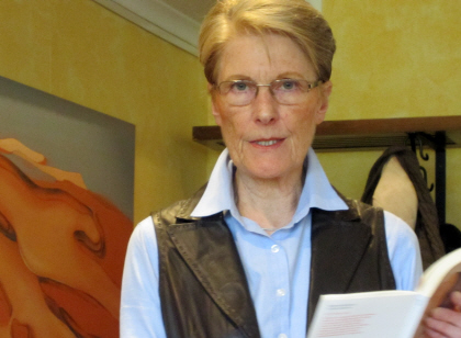 Vorleseclub bei Klostermann: Frau Dr. Nessau