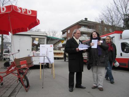 Die SPD sammelt Unterschriften gegen Gasbohrungen im Münsterland