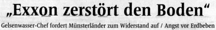 Schlagzeile der WN vom 11.3.2011:
