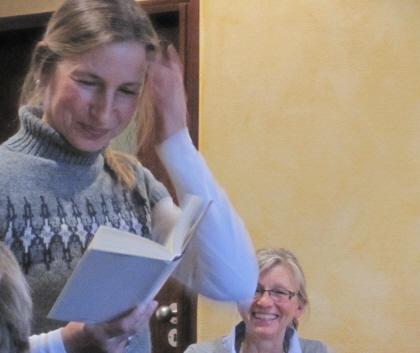 Lucia Wünsch liest im VorleseClub