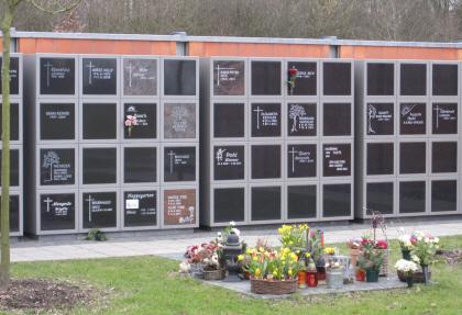 Kolumbarium auf dem Friedhof