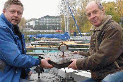 Kampf gegen die Blaualgen im Steiner See
