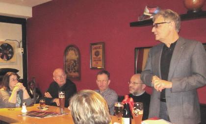 Christoph Strässer redet zum Mitgliedervotum der SPD