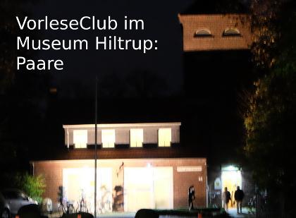 VorleseClub im Hiltruper Museum: Paare