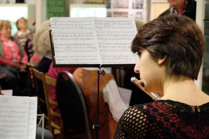 VorleseClub im Hiltruper Museum mit erstklassiger musikalischer Begleitung